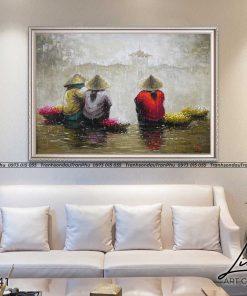 tranh pho co sai gon 7 247x296 - Tranh Phố Cổ Sài Gòn- LPC0041