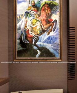 tranh quan cong 4 247x296 - Tranh Quan Công - LPG0181