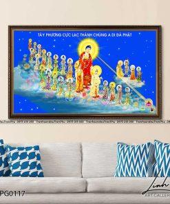 tranh tay phuong cuc lac 6 247x296 - Tranh Tây Phương Cực Lạc - LPG0117