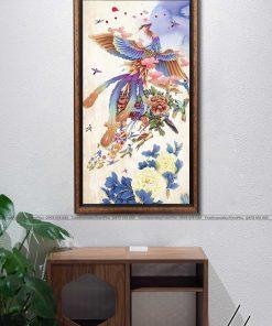 tranh bach dieu trieu phung 8 247x296 - Tranh Bách Điểu Triều Phụng - LPH0101
