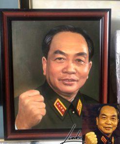 tranh chan dung bac giap 247x296 - Tranh chân dung đại tướng Võ Nguyên Giáp
