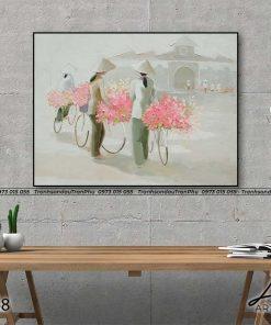 tranh duong pho sai gon 10 247x296 - Tranh Đường Phố Sài Gòn - LQH068