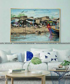 tranh phong canh que huong 13 247x296 - Tranh Phong Cảnh Quê Hương - LQH035