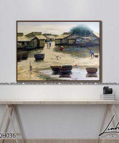 tranh phong canh que huong 14 247x296 - Tranh Phong Cảnh Quê Hương - LQH036