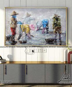 tranh phong canh que huong 19 247x296 - Tranh Phong Cảnh Quê Hương - LQH048