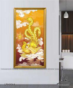tranh phuong hoang 11 247x296 - Tranh Phượng Hoàng - LPH0064