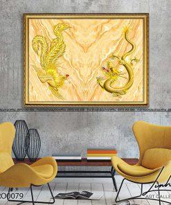 tranh rong phuong 10 247x296 - Tranh Rồng Phượng - LRO0079