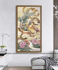 tranh rong phuong 12 247x296 - Tranh Rồng Phượng - LRO0110