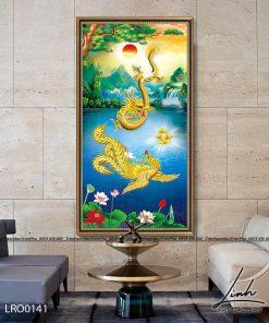 tranh rong phuong 15 247x296 - Tranh Rồng Phượng - LRO0141
