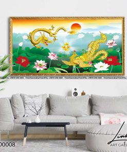 tranh rong phuong 2 247x296 - Tranh Rồng Phượng - LRO0008