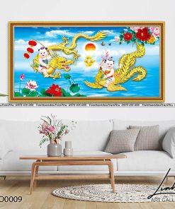 tranh rong phuong 3 247x296 - Tranh Rồng Phượng - LRO0009