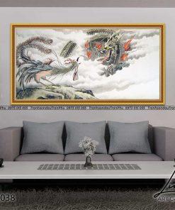 tranh rong phuong 6 247x296 - Tranh Rồng Phượng - LRO0038