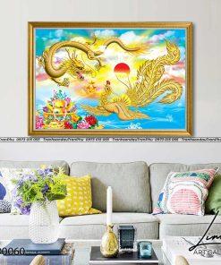 tranh rong phuong 7 247x296 - Tranh Rồng Phượng - LRO0060
