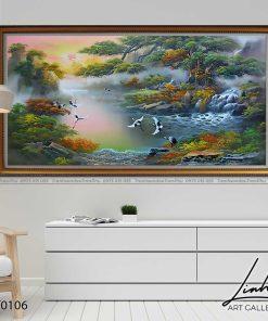 tranh son thuy 105 247x296 - Tranh Sơn Thuỷ - LST0106