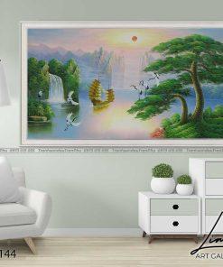 tranh son thuy 143 247x296 - Tranh Sơn Thuỷ - LST0144