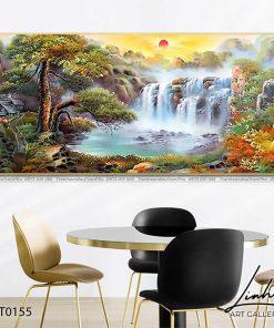 tranh son thuy 154 247x296 - Tranh Sơn Thuỷ - LST0155