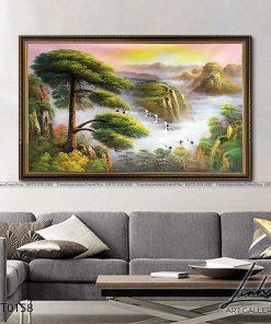 tranh son thuy 157 247x296 - Tranh Sơn Thuỷ - LST0158