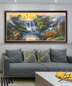 tranh son thuy 192 247x296 - Tranh Sơn Thuỷ - LST0193