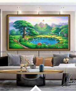 tranh son thuy 239 247x296 - Tranh Sơn Thuỷ - LST0241