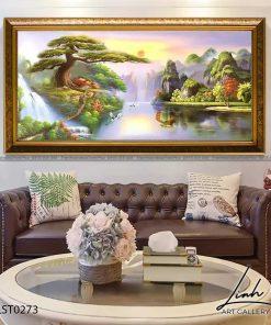 tranh son thuy 271 247x296 - Tranh Sơn Thuỷ - LST0273