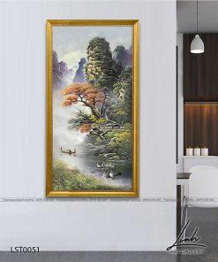 tranh son thuy 50 247x296 - Tranh Sơn Thuỷ - LST0051