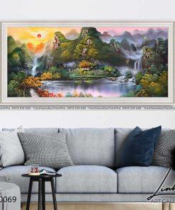 tranh son thuy 68 247x296 - Tranh Sơn Thuỷ - LST0069