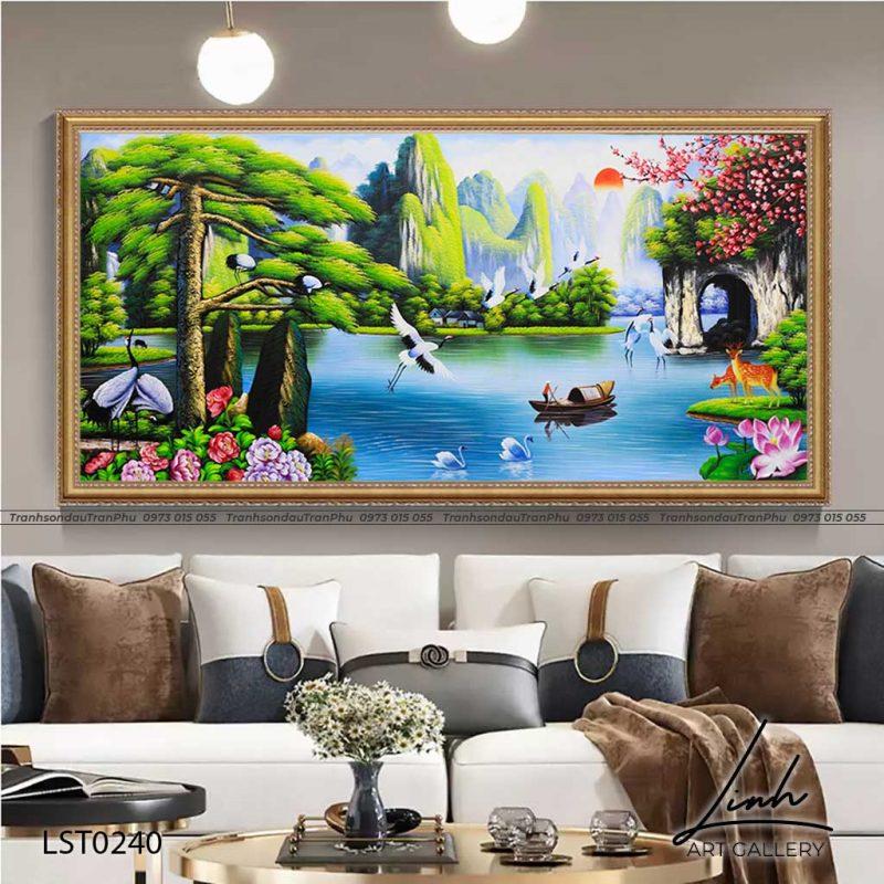 tranh son thuy huu tinh 4 1 800x800 - Tranh Sơn Thuỷ - LST0406