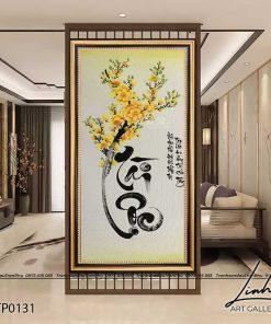 tranh thu phap chu tai loc 4 247x296 - Tranh Thư Pháp Chữ Tài Lộc - LTP0131